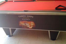 Printing Catprints And Signs - Pool table wraps